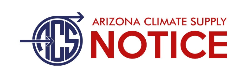 Arizona Climate Supply Notice