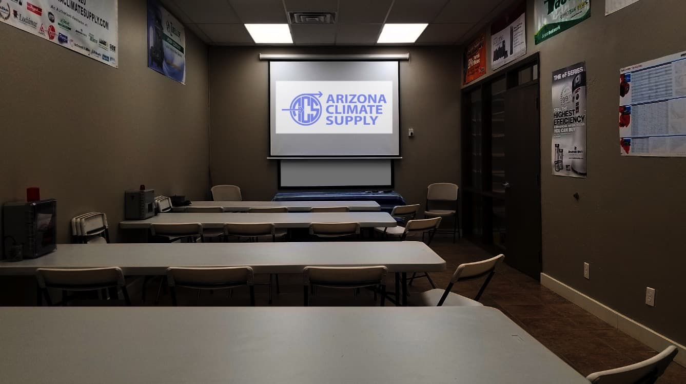 Arizona Climate Supply - Training Room Available for your use