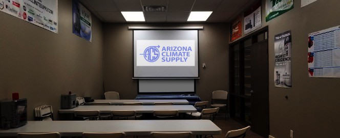 Arizona Climate Supply - Conference Room available for our customers to use for training, meetings, conferences.
