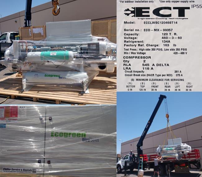 New Ecochiller EcoGreen Chiller Systems